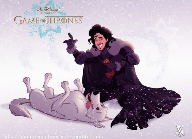 Game Of Thrones Characters Reimagined As Disney Characters disney3