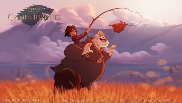 Game Of Thrones Characters Reimagined As Disney Characters disney4
