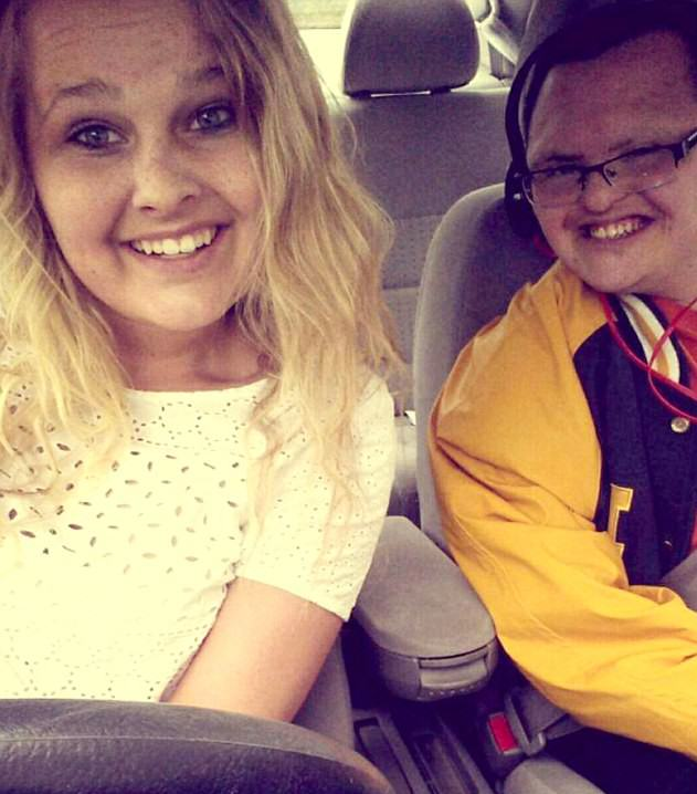 Lad With Downs Syndrome And His Prom Date Show How Its Done downs1