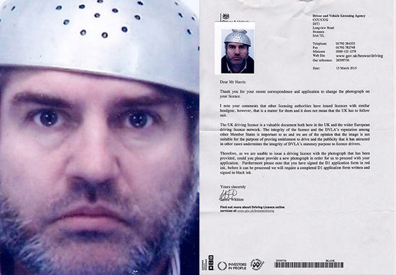 Dad Challenges DVLA Over Religious Headgear In Driving Licence Photo dvlaWEBTHUMBNEW