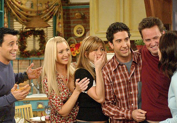 If The Characters From Friends Used The Internet friendsWEBTHUMBNEW Recovered