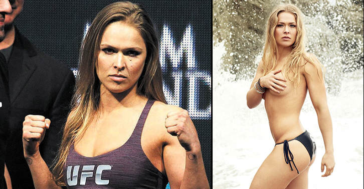 Ronda Rousey: Fighting A Man Does Seem Plausible At This Point gvhjnkm