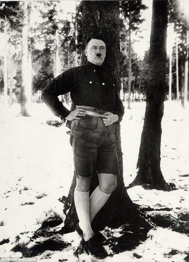 These Modelling Shots Of Adolf Hitler Are Downright Bizarre hitler
