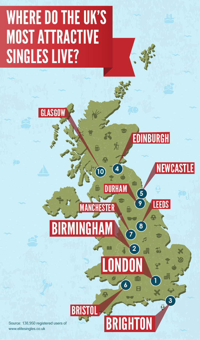 Check Out Where The Hottest People In The UK Live hot uk