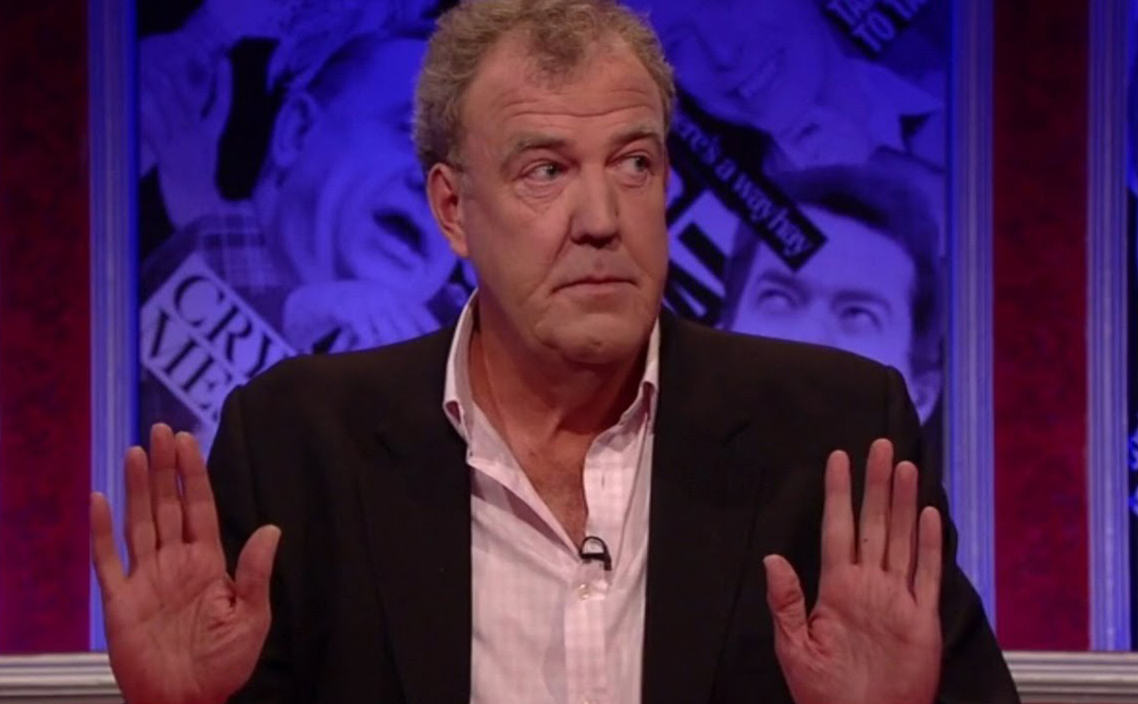Jeremy Clarkson In Have I Got News For You BBC Comeback j