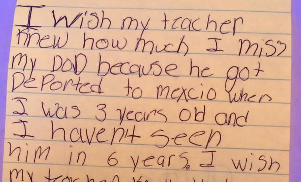 Teacher Asks Kids To Write What They Wished She Knew, Replies Will Break Your Heart kids1