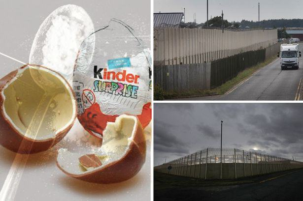 Prisoners At One Jail Find Ingenious Way To Smuggle Drugs In Using Kinder Eggs kinder