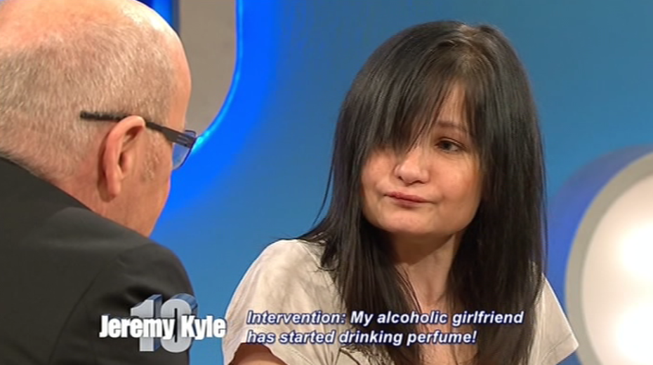 Alcoholic Woman Sent To Rehab By Jeremy Kyle After Resorting To Drinking Perfume kyle
