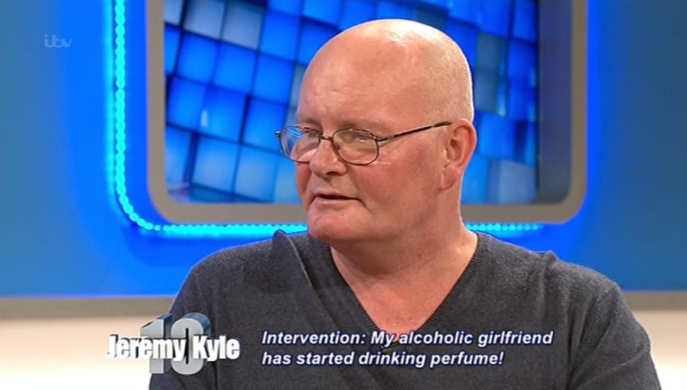 Alcoholic Woman Sent To Rehab By Jeremy Kyle After Resorting To Drinking Perfume kyle1