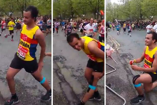 London Marathon Runner Breaks Away From Race To Stun Girlfriend With Proposal marathon