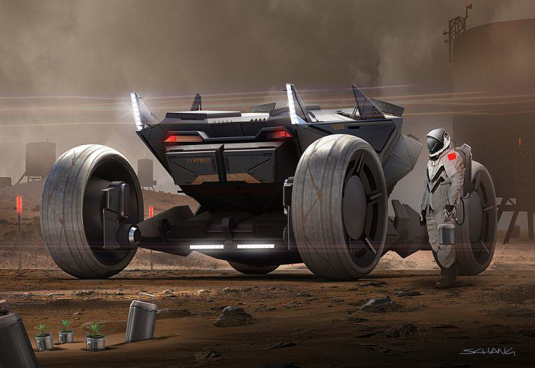 Star Wars Designer Shows Us How The Future Of Travel May Look mars 1
