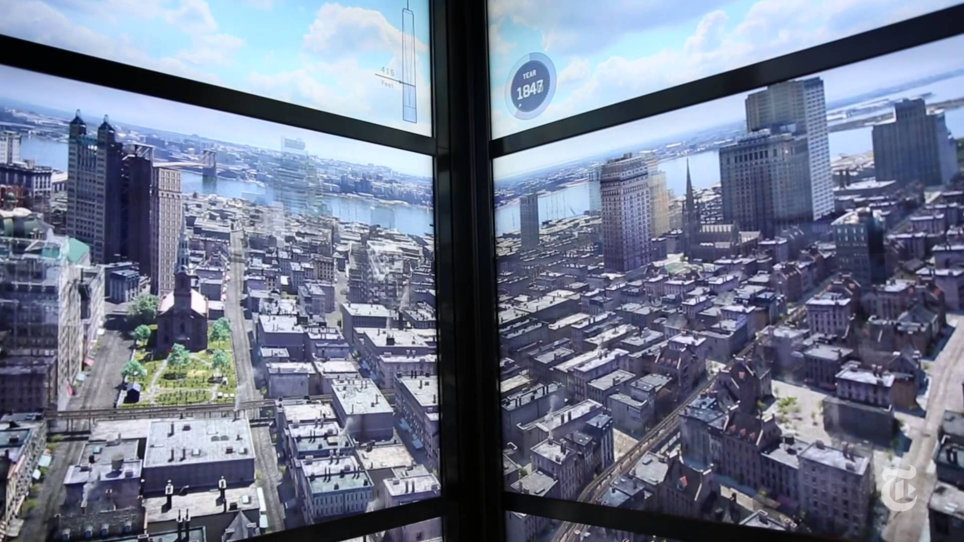 1 World Trade Centers Timelapse Of NYC Through The Ages Is Breathtaking maxresdefault1