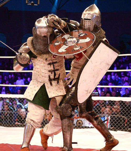 Russian MMA League Launch Armoured Knight Fighting Because Russia medi