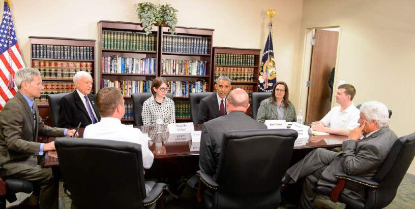 Man Accidentally Gets Invite To Obama Round Table Meeting obama2