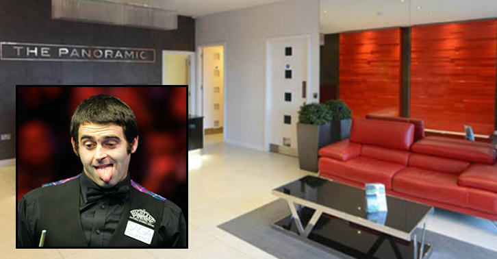 Ronnie OSullivan Is Giving Away a £350K Apartment As A Prize In A £1.50 Raffle oiuyg