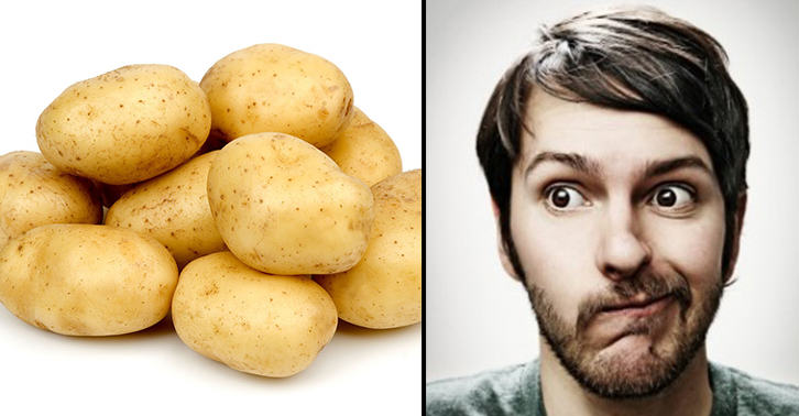 This Lad Ruined His Relationship... With Potatoes okijuhyg