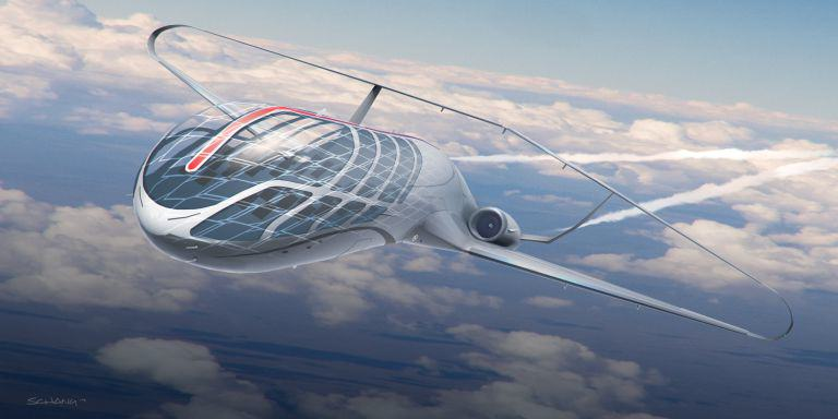 Star Wars Designer Shows Us How The Future Of Travel May Look plane 3