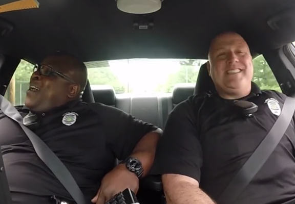 Police Duo Caught Lip Syncing On Police Dash Camera policeweb
