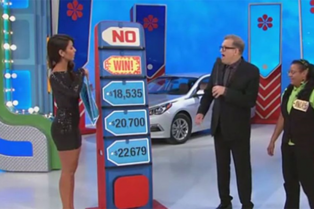 Price Is Right Model F*cks Up, Accidentally Gives Away Car priceisright 640x426