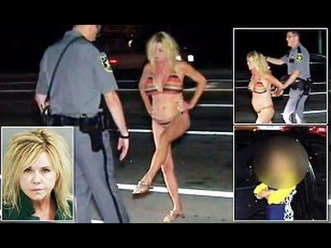 Granny Drives Drunk With Grandson In Car, Gets Pulled Over Only Wearing Bikini ranny1