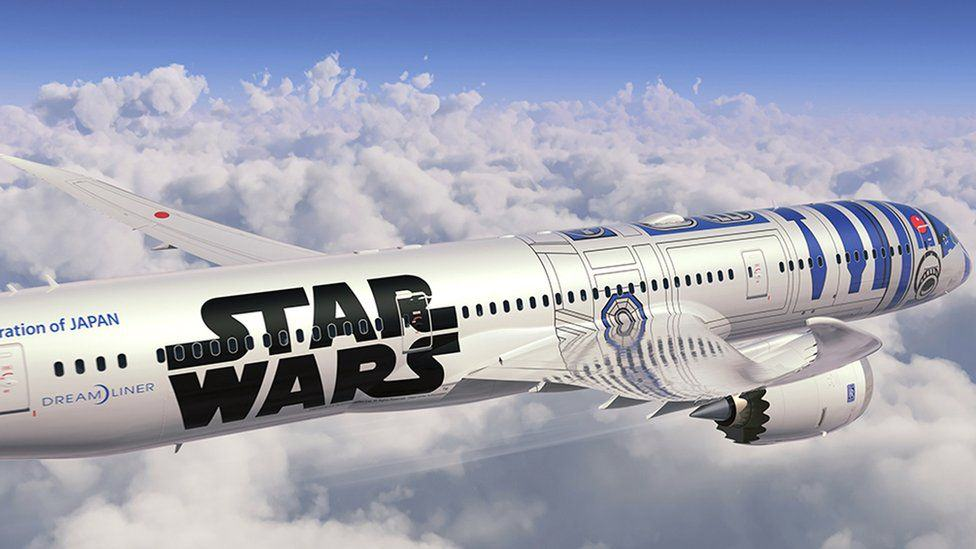 Japanese Airline Announce Plans For Star Wars Themed Plane, Obviously Looks Epic star wars