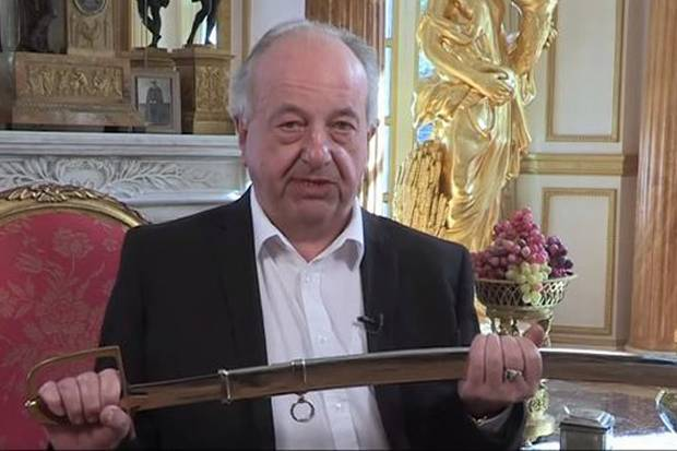 Polish Prince Challenges Nigel Farage To An ACTUAL Sword Fight sword1