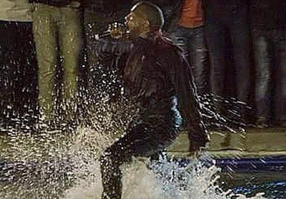 Kanye West Has To Be Rescued After Jumping Into Lake During Performance In Armenia westWEBTHUMBNEW