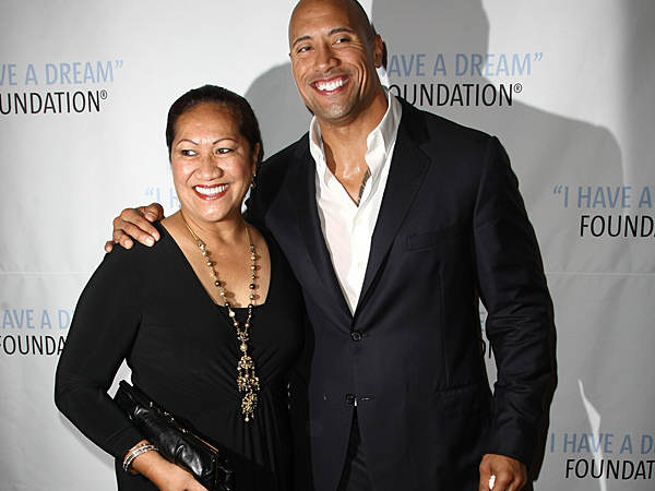 The Rock Posts Awesome Mothers Day Instagram For His Momma 081014 Dwayne Johnson the rock 600