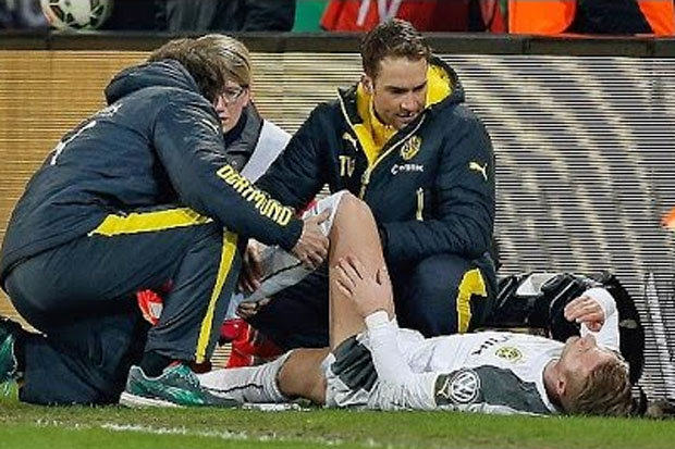 German Police Are Investigating A Tackle On Borussia Dortmunds Marco Reus 1106