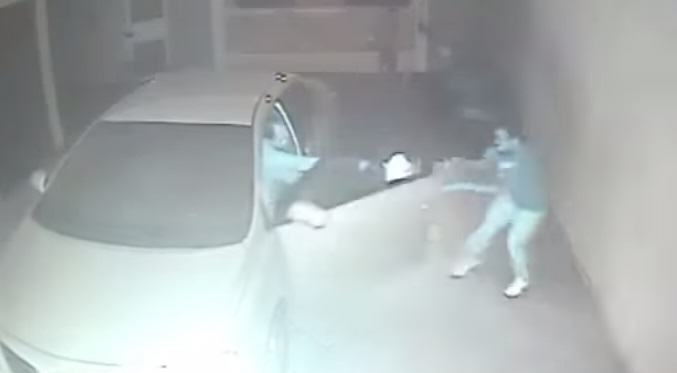 Robbers Try To Steal This Brazilian Guys Car From His Garage   Until He Opens Fire 1120