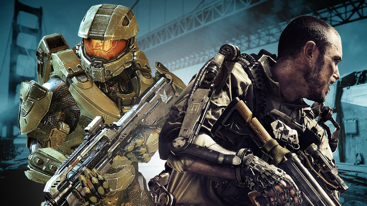 Halos Master Chief Takes On Call Of Duty Noobs In Crazy Video 1134
