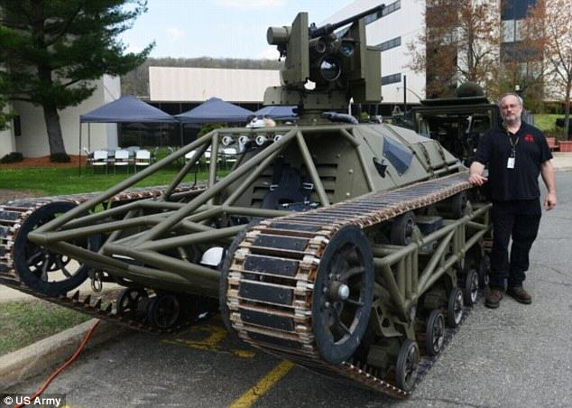 Ripsaw: The New Drone Tank Ready To Lead US Army Into Battle 1136