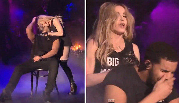 Madonna Says She Regrets Kissing Drake And That He Kisses Like A Girl 130