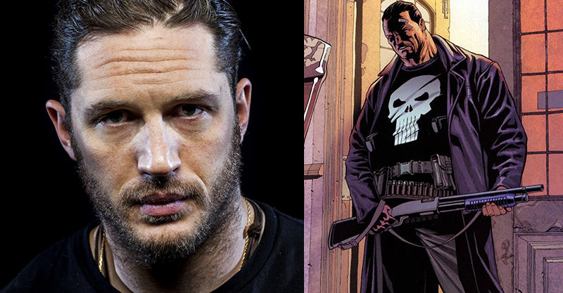Tom Hardy Wants To Play Marvels The Punisher 138