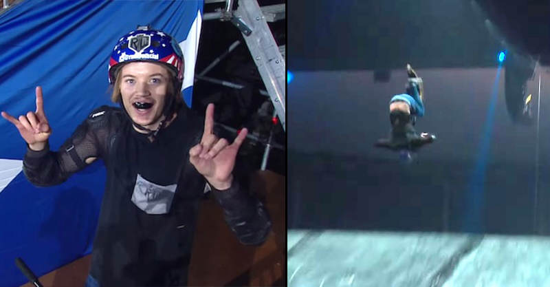 Nitro Circus Lad Finally Lands Scooter Triple Back Flip 156
