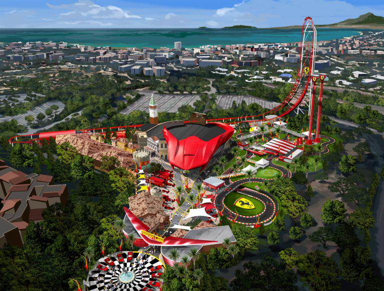 Car Based Theme Park Ferrariland Is Due To Open In Europe Next Year 161