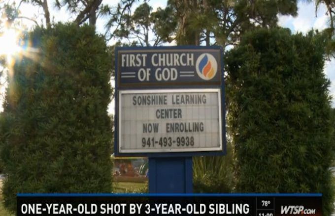 Three Year Old Boy Shoots His One Year Old Sister 193