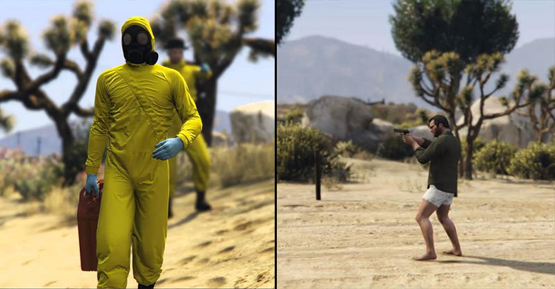 Breaking Bad Meets GTA V In This Amazing Remake 195