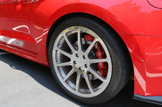 The New 2015 Shelby GT Mustang Is A Beautiful Machine 2015 shelby gt mustang 29 wilwood 4 piston calipers