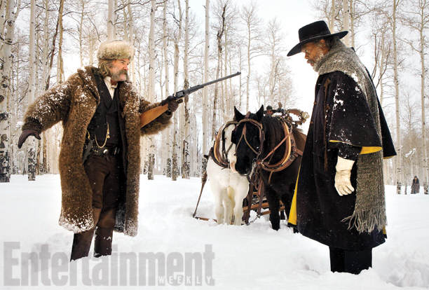 First Look Photos Of Tarantinos New Film The Hateful Eight Have Been Released 212