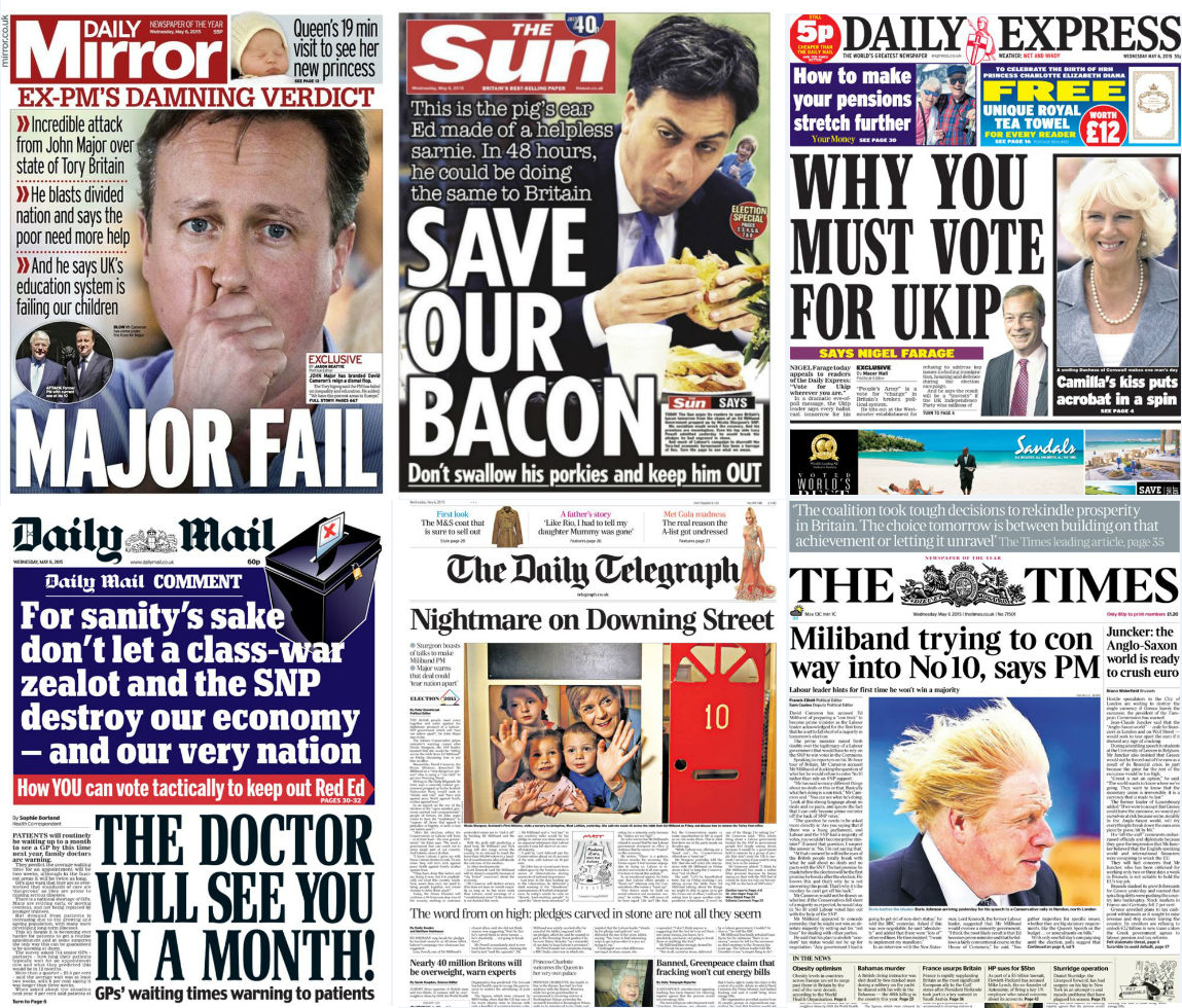 Newspapers Tell Their Readers Who To Vote For, But Do They Listen? 29100 3rrmdg