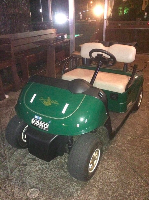 Two Fans Steal Golf Cart From PGA Event, Drive Five Miles To Bar 341