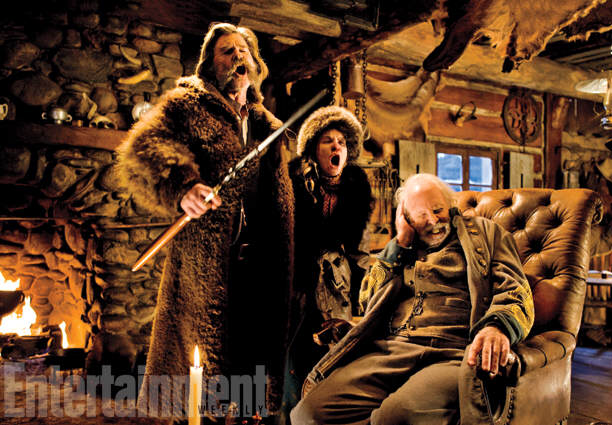 First Look Photos Of Tarantinos New Film The Hateful Eight Have Been Released 35