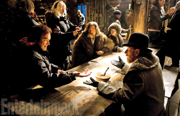 First Look Photos Of Tarantinos New Film The Hateful Eight Have Been Released 73
