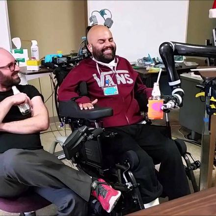 Paralysed Man Drinks A Beer Using Mind Control 78