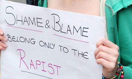 Police To Pay Rape Victim £20,000 After Initially Threatening Her With Charges Anti rape demonstration p 008