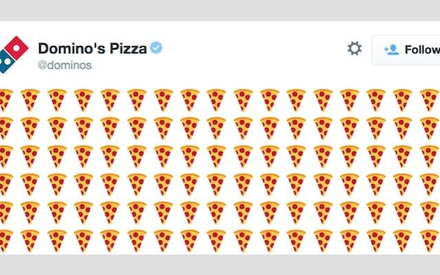 U.S Customers Will Soon Be Able To Order A Pizza Just By Tweeting The Pizza Emoji Dominos emoji 640x400