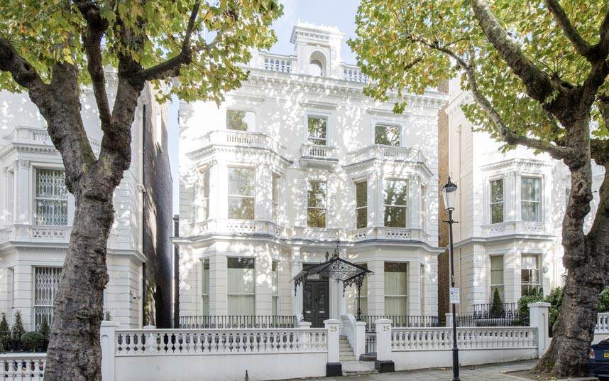 First Time Buyers Need At Least £77K A Year To Get A House In London Holland Park Exter 2393678k