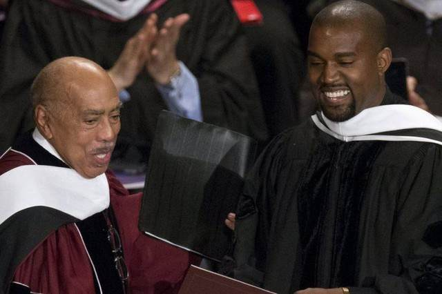 Kanye West Officially Becomes Dr. Kanye West After Receiving Doctorate Kanye degree 640x426