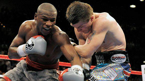 Ricky Hatton Calls Floyd Mayweather A Dickhead For Disrespecting The Sport Mayweather Hatton